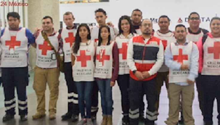 Cruz Roja Mexicana llega a Texas por emergencia