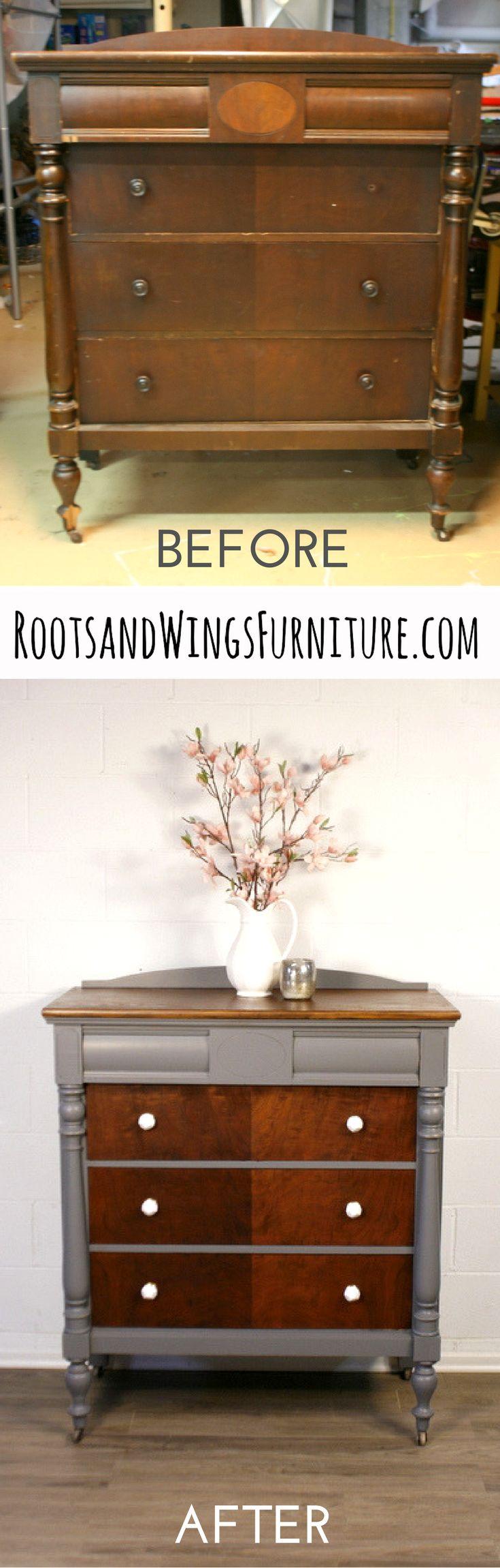 http://www.rootsandwingsfurniture.com/blog/driftwooddresser Great repair tutorial. http://www.rootsandwingsfurniture.com/blog/driftwooddresser