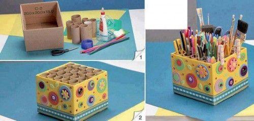 kutudan kalemlik yapımı