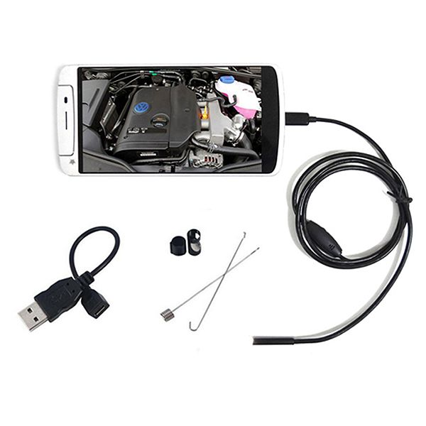 Smartphone Waterproof Endoscope Inspection Camera For