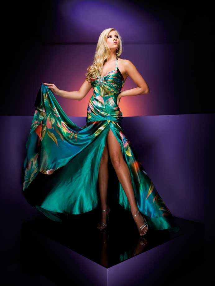 Tropical Paradise Paris Prom Dress 110703