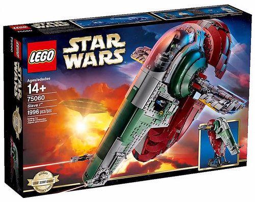 IT'S A DREAM ON..... BIRTHDAY WISH LIST ITEM Lego Star Wars UCS Slave I Set