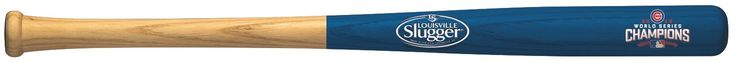 Chicago Cubs Bat - 18 in. - Half Dipped with Logo - 2016 World Series Champs