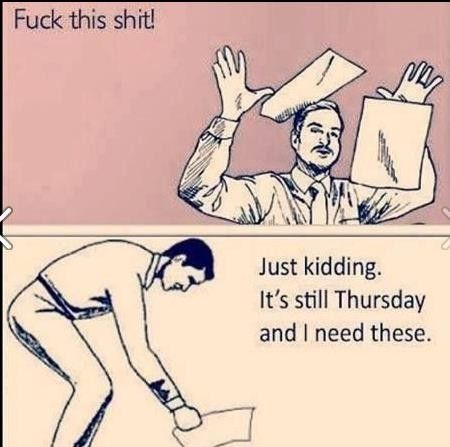 I totally feel this way about Champs right now... and school work.