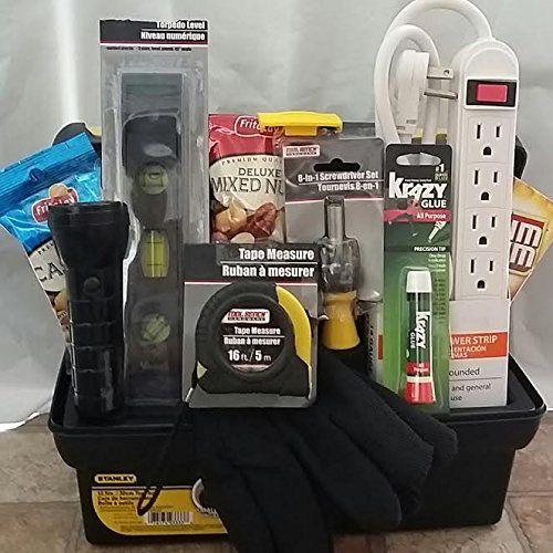 Handyman New Home Housewarming Tool Box Gift
