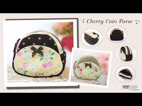 Cherry Coin Purse_PINN SHOP - YouTube