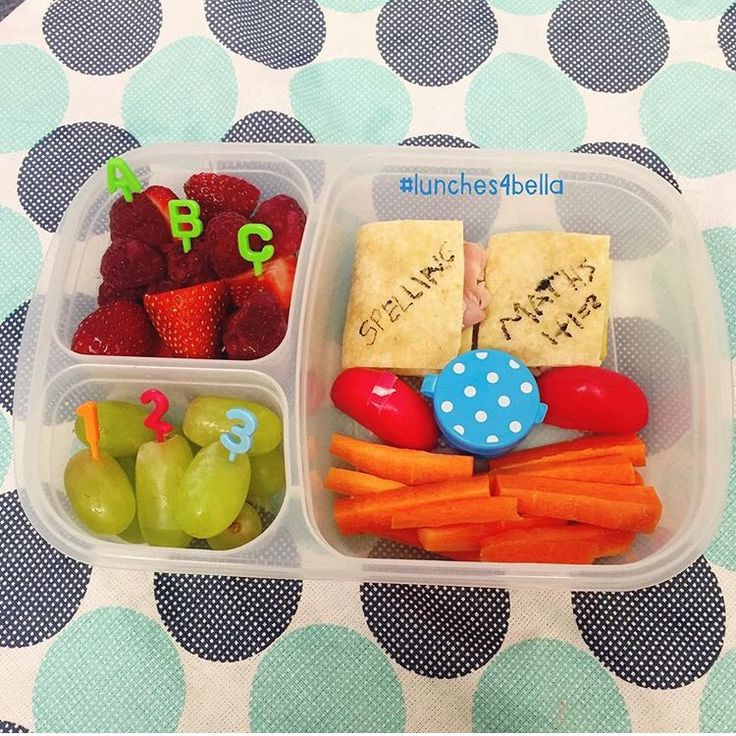 #lunches4bella back to school bento lunch in Easy Lunchbox