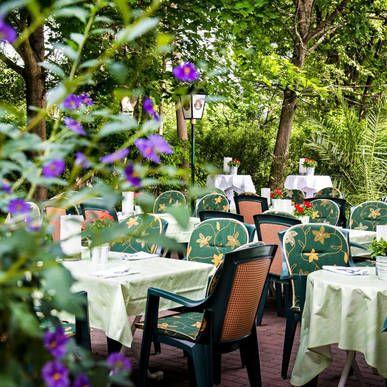 Terrasse im  H+ Hotel Erfurt - Offizielle Webseite