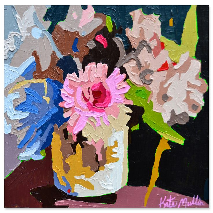 Kate Mullin Botanical Paintings - Pop Up Shop 9/4