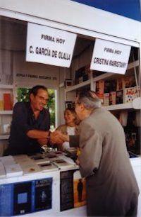 El aroma de la luna, Huerga-Fierro, Poesía, Feria del Libro de Madrid, Volver a firmar, Carlos Olalla