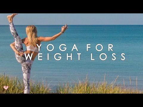 Yoga Workout for Weight Loss ♥ The Waistline Crusher - YouTube