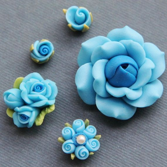 .This reminds me of my Mom.  She used to make polymer clay flowers.
