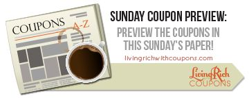 Sunday Coupon Inserts for 1/26 - 4 Inserts! - http://www.livingrichwithcoupons.com/2014/01/sunday-coupon-inserts-126-4-inserts.html