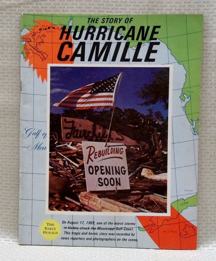 The Story Of Hurricane Camille August 17 1969 The Daily Herald Mississippi Coast