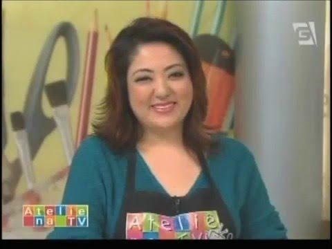 Ateliê na TV - Tv Gazeta - 24.11.14 - Mayumi Takushi