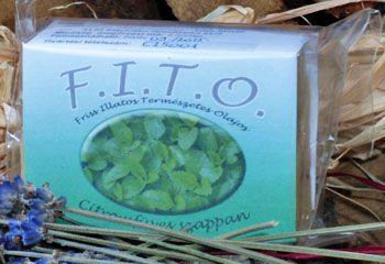 F.I.T.O. Szappanok - Természetes, kézműves háziszappan citromfűvel.  Információ: info@fitoszappan.hu