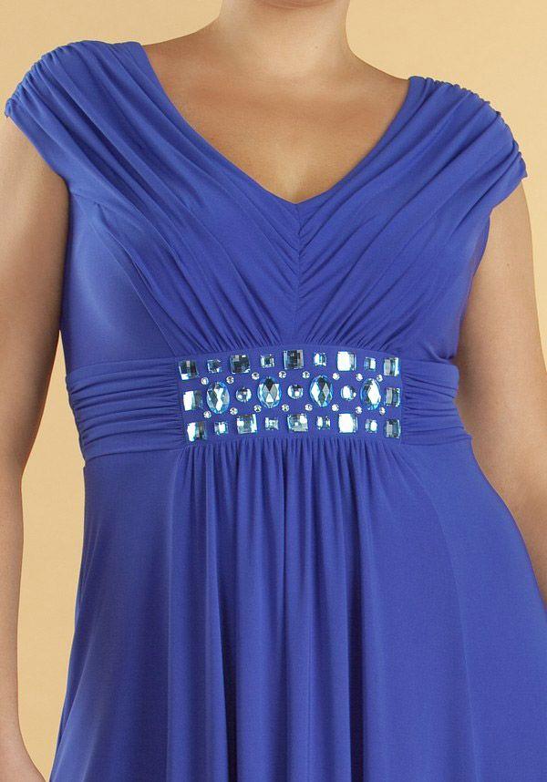 Выходные платья для полных женщин