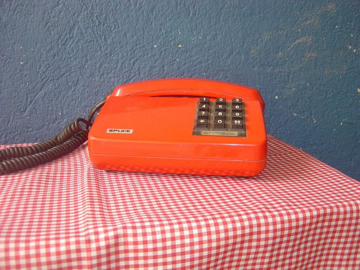 Telefone Vermelho Anos 90