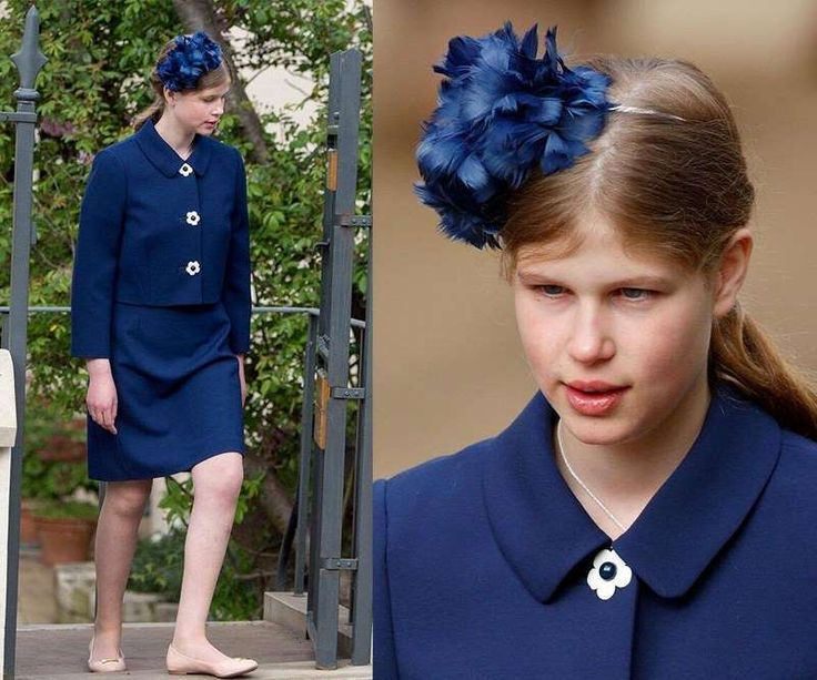 Also in attendance was Prince Edward and his wife Sophie the Countess of Wessex who made a family day of the occasion by bringing along son James and daughter Lady Louise Windsor. The Queen's youngest granddaughter has grown to be a stunning young lady after stealing the hearts of many playing the role of Bridesmaid at Wills and Kate's 2011 wedding.