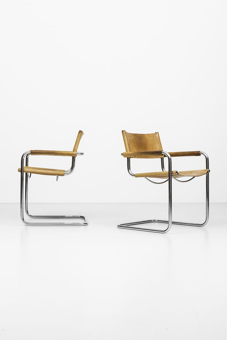 Mart Stam armchairs by Fasem at Studio Schalling