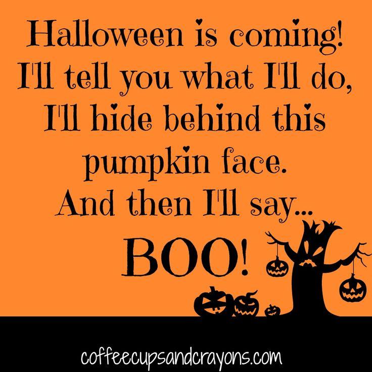 Pumpkin Face Halloween Finger Play