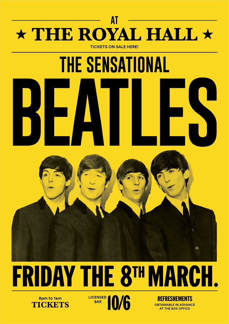 Twist And Shout With This The Beatles Concert Poster