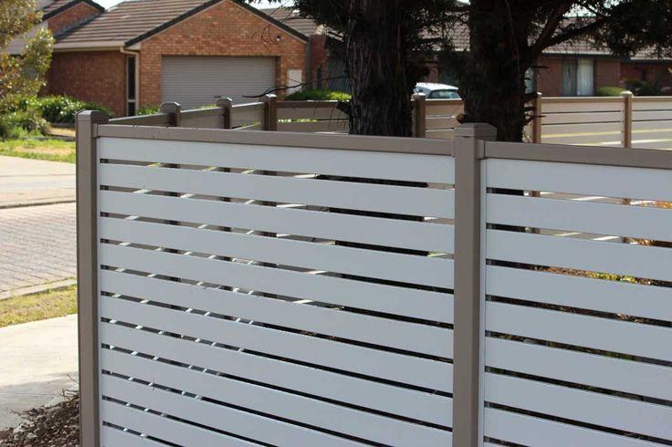 Aluminium Slat Fencing - Everlast Services