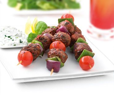 QUORN MEDITERRANEAN MEAT-STYLE BALL KEBABS