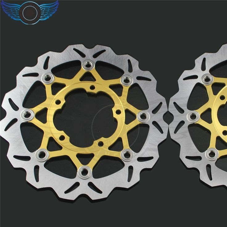 146.00$  Buy here - http://aligl5.worldwells.pw/go.php?t=32465741098 - 310MM 2 pieces brand new motorcycle accessories Front Brake Disc Rotor for Suzuki GSXR1000 2005 2006 2007 2008 146.00$