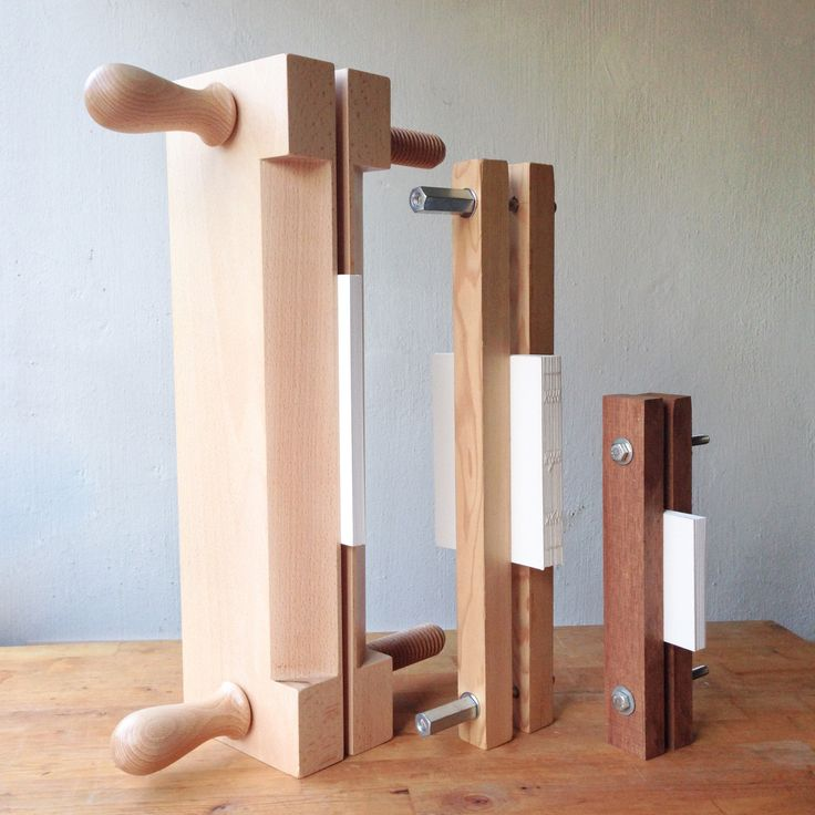 A Finishing Press is a very important equipment in the bindery. I was able to get a proper beech finishing press when I was in London, but before that, I use these two small presses which were made by...