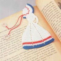 Crochet Bookmark Patterns...free crochet patterns at this site!