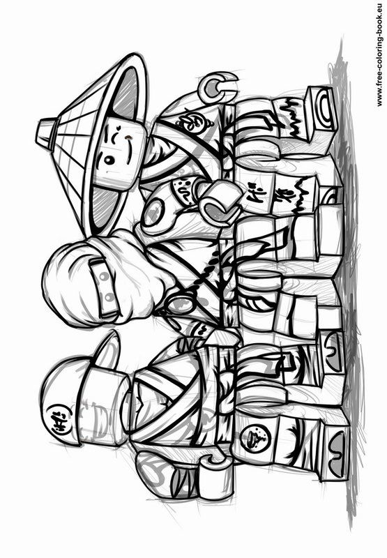 Coloring Pages Lego Ninjago Printable Coloring Pages