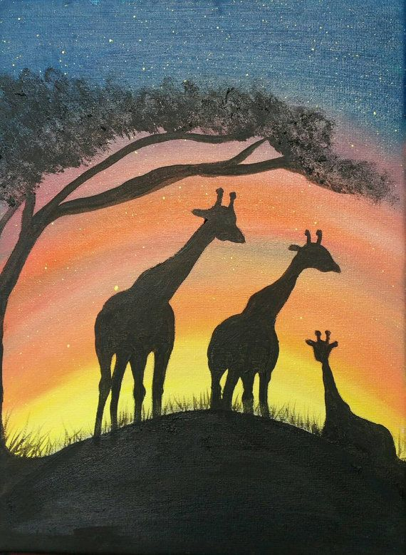 Check out this item in my Etsy shop https://www.etsy.com/uk/listing/482917313/original-oil-painting-of-a-giraffe
