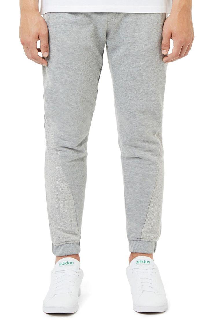 Cut & Sew Slim Fit Jogger Pants