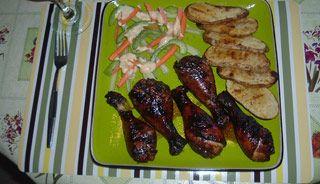 Pilons de poulet grillés sur BBQ - Recettes du Québec