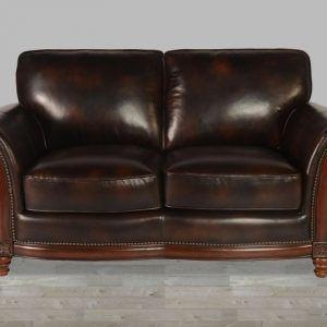 Savannah Caramel Leather Sofa