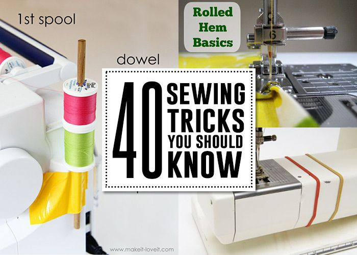 Sewing hacks & tips you need to know! - Andreas Notebook