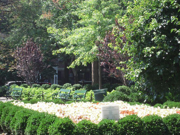 Gramercy Park, Manhattan N.Y. USA
