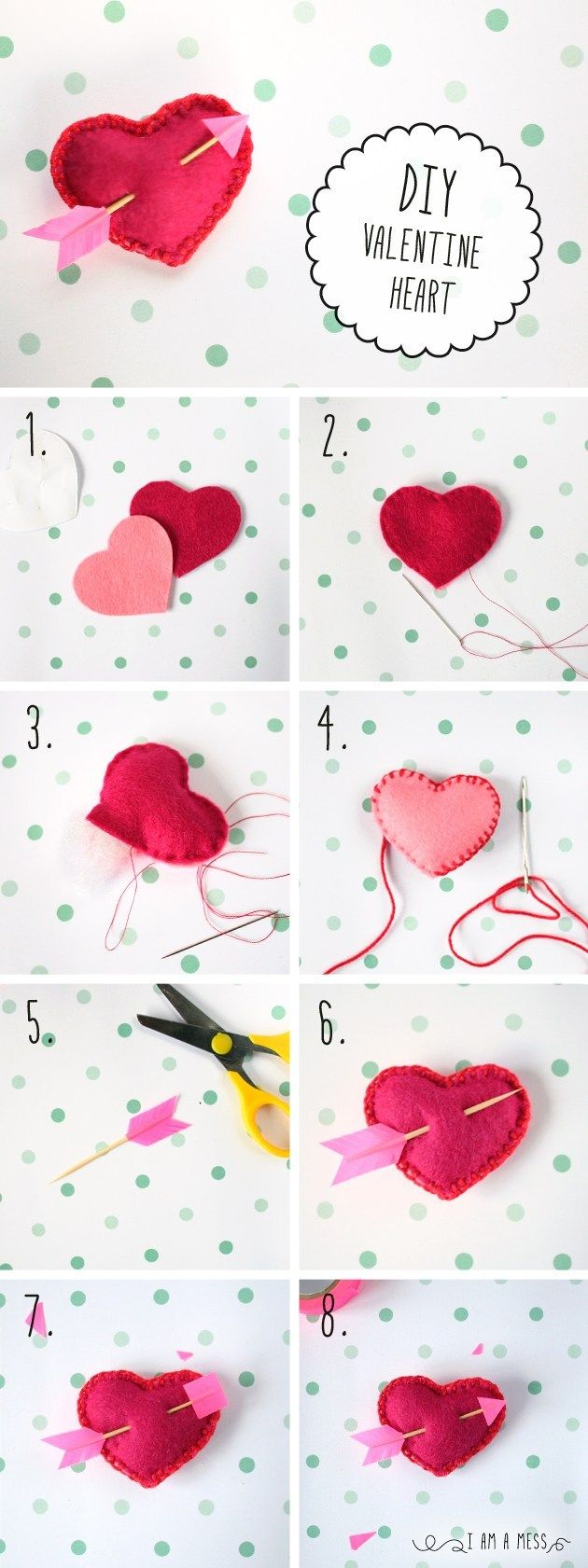 These Valentine's Day Crafts Are the Best Way to Spread the Love This Year Valentine Day Wreaths, Valentines Day Hearts, Valentine Day Love, Valentines Day Decorations, Valentine Day Crafts, Heart Diy, Heart Crafts, Diy Valentine's Hearts, Saint Valentine