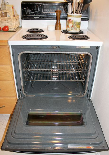 A simple method for a super clean oven!