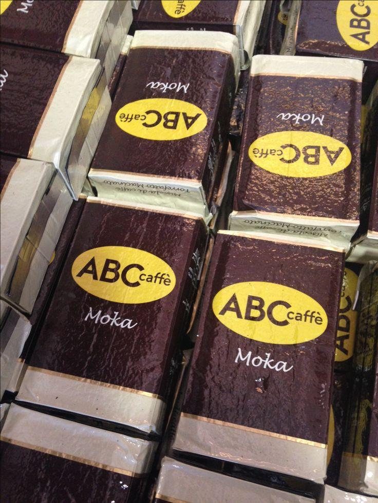 Caffè per moka. ABC caffè, il buoncaffè.