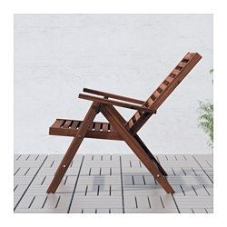 IKEA - ÄPPLARÖ | reclining | outdoor. the back can be adjusted to 5 different position. easy to fold up + put away | 2 for outside.