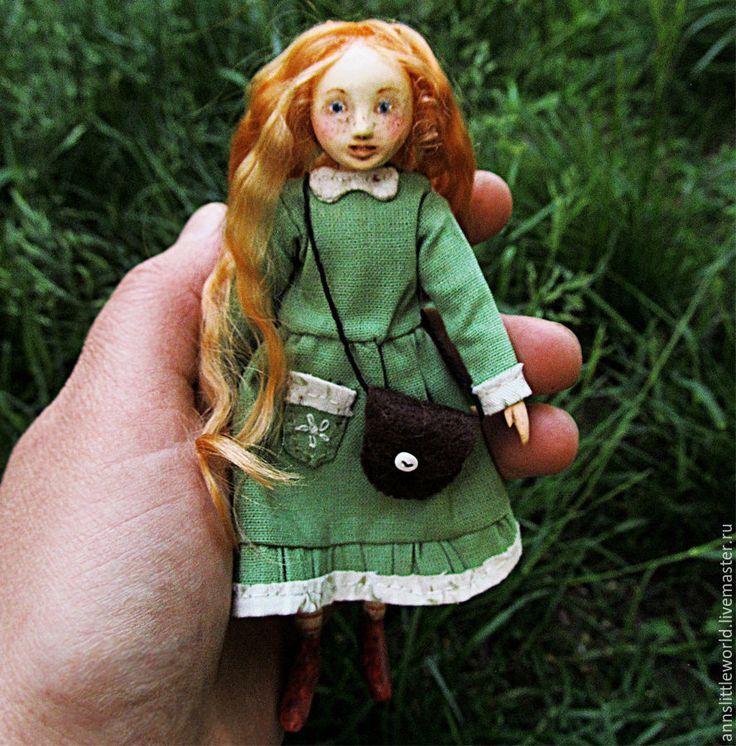 Купить Малышка Лисичка - рыжий, лисичка, кукла ручной работы, кукла, рыжая девочка
