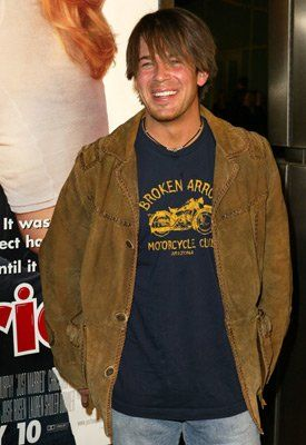Christian Kane at premiere's | ... wireimage com titles just married names christian kane christian