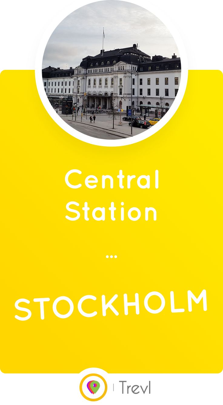 Stockholm Central Station is the busiest train station in the Nordics. It hasn't always been this busy, though.