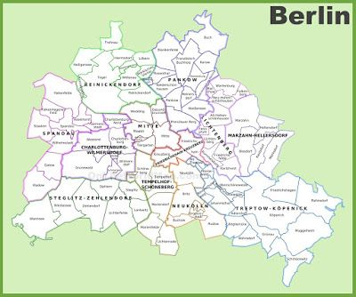 Property Locations in Berlin: Property Risk Analysis for 12 districts and 96 Bor...