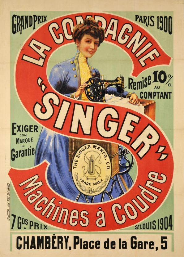 Thank for Singer sewing vintage ads