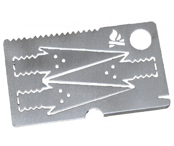 Bushcraft Essentials Survival Card EDC Tool