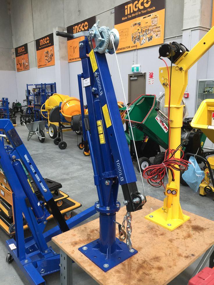 Truck Jib Crane Homemade tools, Welding projects, Garage