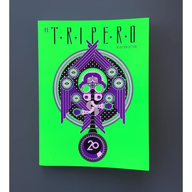 "In the mid 1990's a group of students under the tuition of famous South  American comic artist #AlbertoBreccia started a fanzine called 'El  Tripero'. The fanzine was a platform for the students to experiment with a  new comic 'expressionist' aesthetic. Bold use of light and shadow promoting  a dark ""Gritty"" style, accompanying stories which move between magic  realism and tragic fantasy. Impeccably edited - the new issue 'El Tripero  XX' invited 14 of the original members of the 'Alberto…"